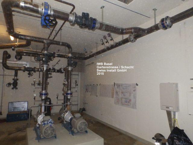FW-Rohrleitungsbau. Hausinterne Anschlüsse