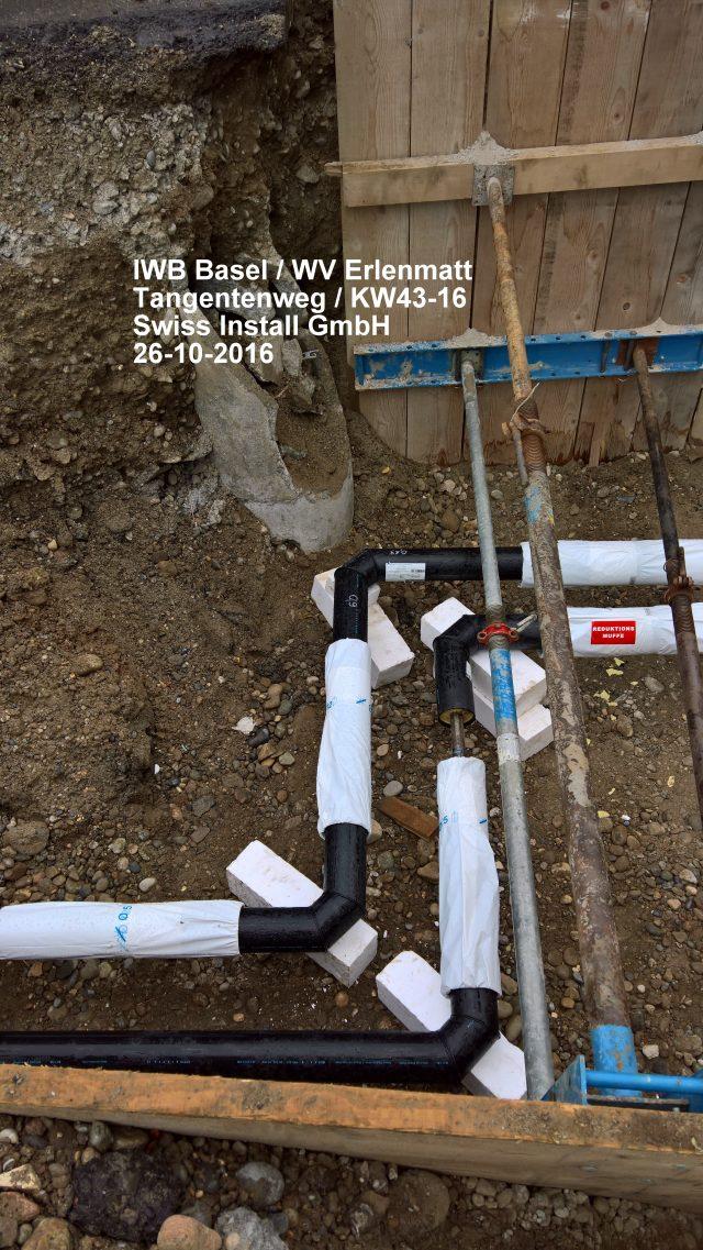 FW-Rohrleitungsbau. Hausinterne Anschlüsse.